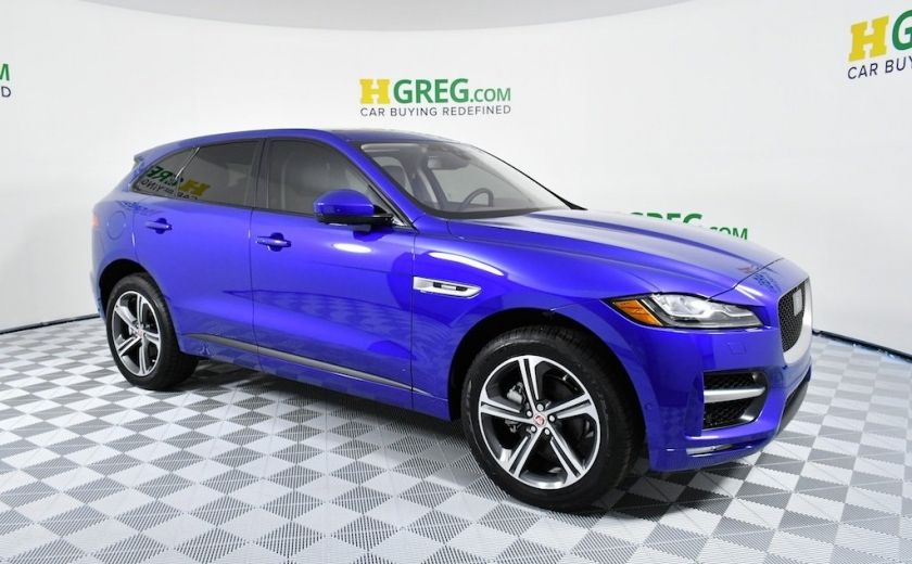 used 2018 jaguar f pace for sale | hgreg