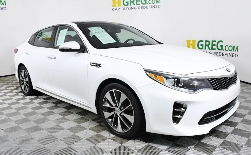 Used 2016 Kia Optima For Hgreg