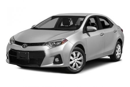 2015 Toyota Corolla S #0