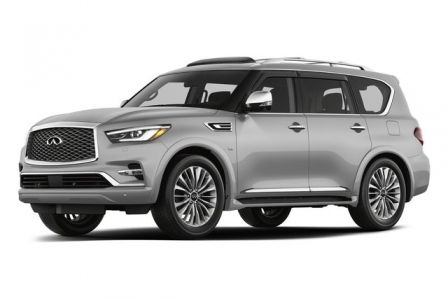 2018 INFINITI QX80 Deluxe Technology Package in Aventura