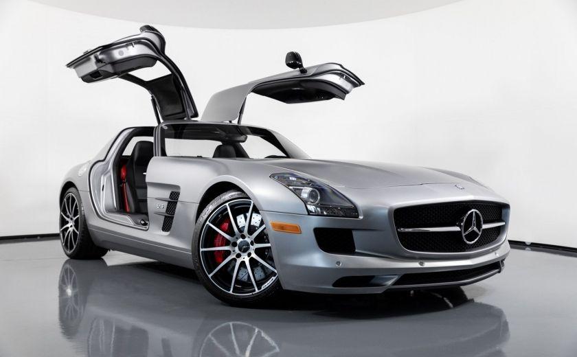 Mercedes Sls Amg Gt >> Used 2014 Mercedes Benz Sls Amg Gt For Sale Hgreg Com