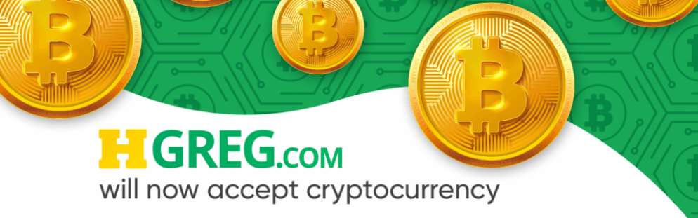 HGreg.com now accepts bitcoin payments
