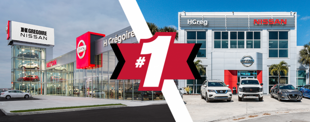 HGreg.com earns title of #1 Nissan dealership in both the U.S. and Canada